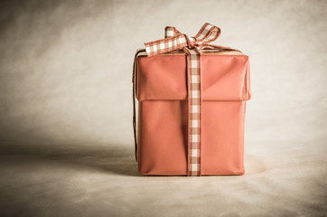Single Gift Box Tied with Bow