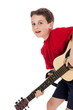 Boy Playing Guitar