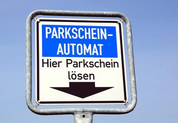 Parkschein Automat