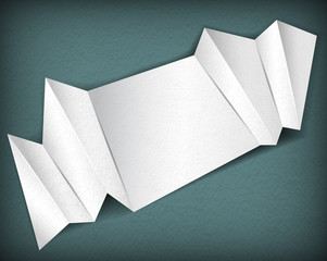 Abstract folded paper background