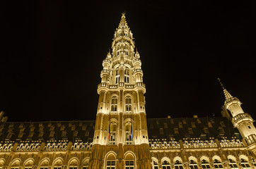 Grand Place in Brussels.