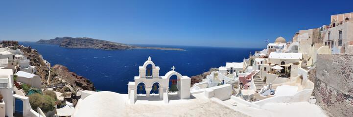 Panoramafoto Santorini, Oia