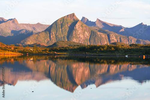 Fototapeten,arktis,boot,dock,europa
