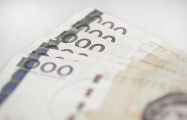 Swedish 1000 bills