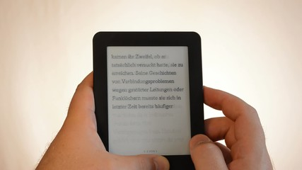e-book reader bright man thumb