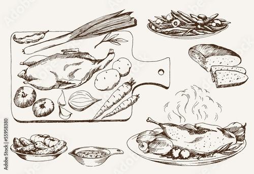 dish of wild ducks