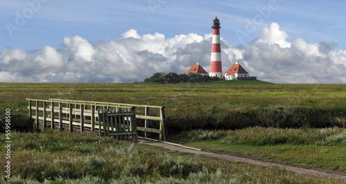 Fototapeten,north sea,leuchtturm,himmel,wolken
