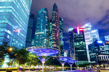 Singapore corporate building