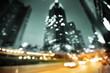 Fototapete Downtown - Straße - Hintergrund