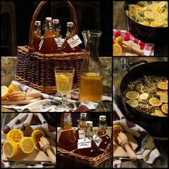 Elderflower Cordial Set Collage