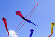Serpent and Pink ribbon kite