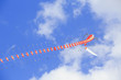 Chinese dragon kite tail