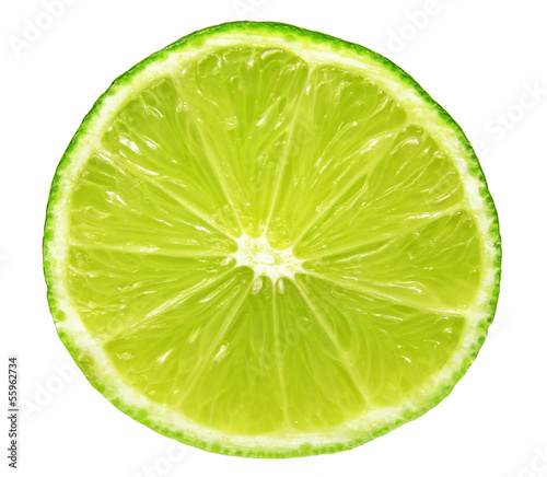 closeup of lime slice © chrupka