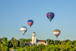 Boise TRain Depot with hot air balloons - 55963321