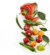 Raw Peppers Assortment