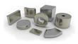 canvas print picture - Neodymium magnets