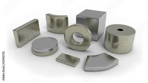 canvas print picture Neodymium magnets