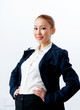 Attractive businesswoman in formal suit