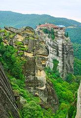 Monastery from Meteora-Greece.
