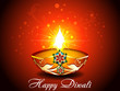 Diwali Background with flroal