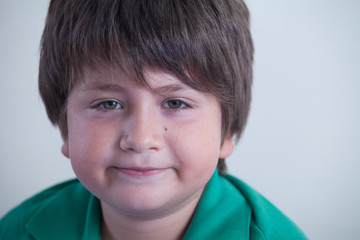 viso di bambino