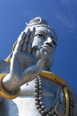 Shiva Statue in Murudeshwar, Karnataka, India.
