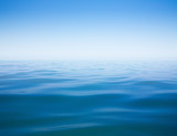 Fototapety clear sky and calm sea or ocean water surface background