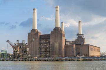 Abandoned Battersea Power Station, London, UK