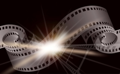 Dark Cinema film background
