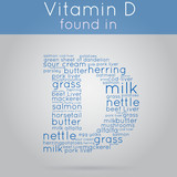 Vitamin D info-text background