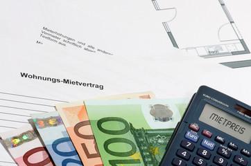 Mietvertrag - Mietpreis