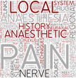 Regional anesthesia Word Cloud Concept