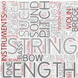 String instrument Word Cloud Concept