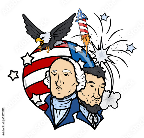 Presidents Day Vector Illustration