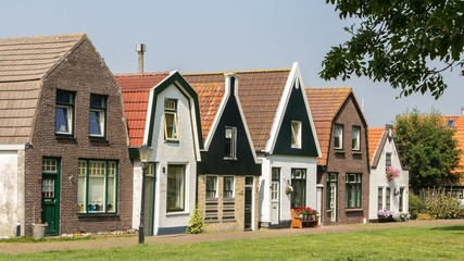 Traditional Dutch fishing village