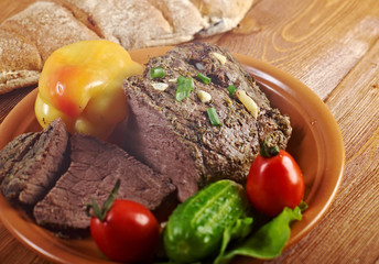 roast beef farm-style