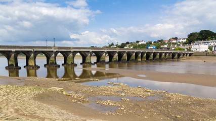 Bridge at Bideford Devon