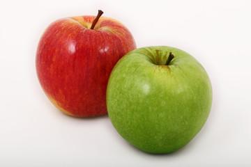 manzanas roja + verde