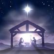 Christmas Manger Nativity Scene