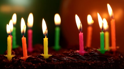 Candles on the birthday cake episode 5