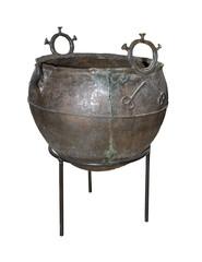Bronze cauldron. Scythians, 5th century BC