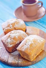 sweet keks with sugar
