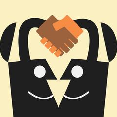 handshake idea concept