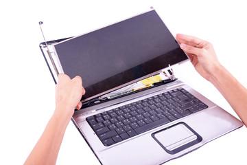 laptop damage