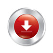 Download button. Red round sticker.