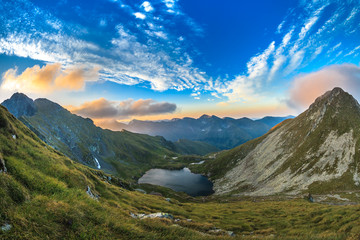 Capra lake. Fagaras Mountains,Romania