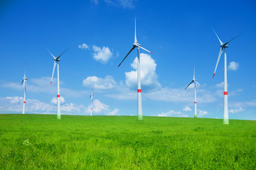 Wind power electricity turbines