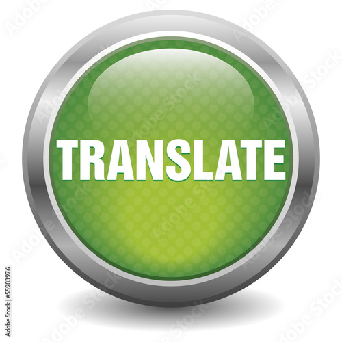 Green translate icon