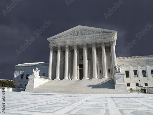 US Supreme Court Thunderstorm Washington DC