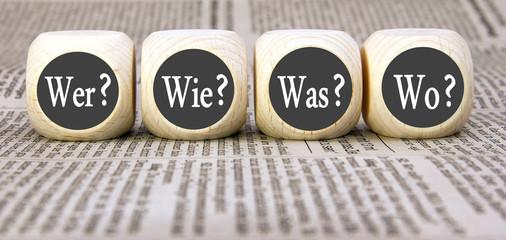 W-Fragen Konzept